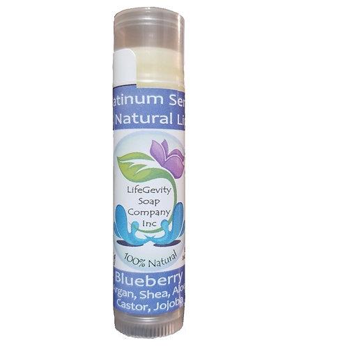Blueberry Organic Platinum Lip Balm 4.25 g