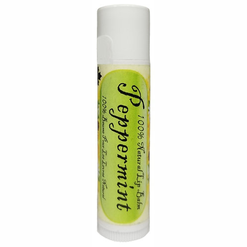 Peppermint Organic Lip Balm (4.25 g)