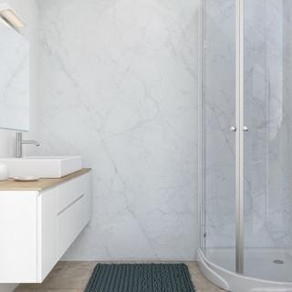 חיפוי קיר welcome-V דגם:Carrara Marble