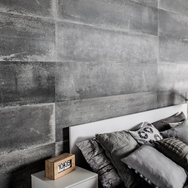 חיפוי קיר פולימרי מדגם:Loft concrete