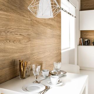 חיפוי קיר אנטיבקטריאלי למטבח דגם: Wood brandy