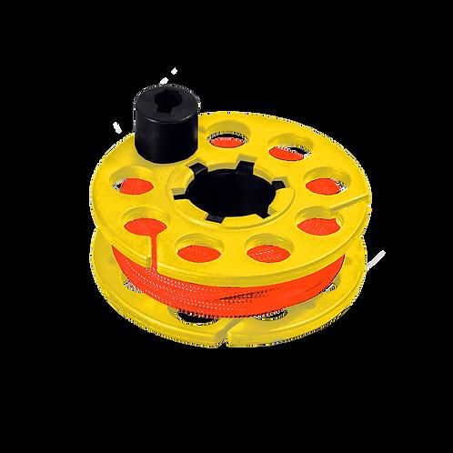 15M捲線器 / SPOOL ( 黃 )