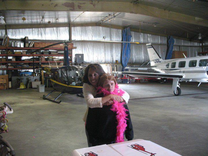 Debbie Leeann -helicopter Ride