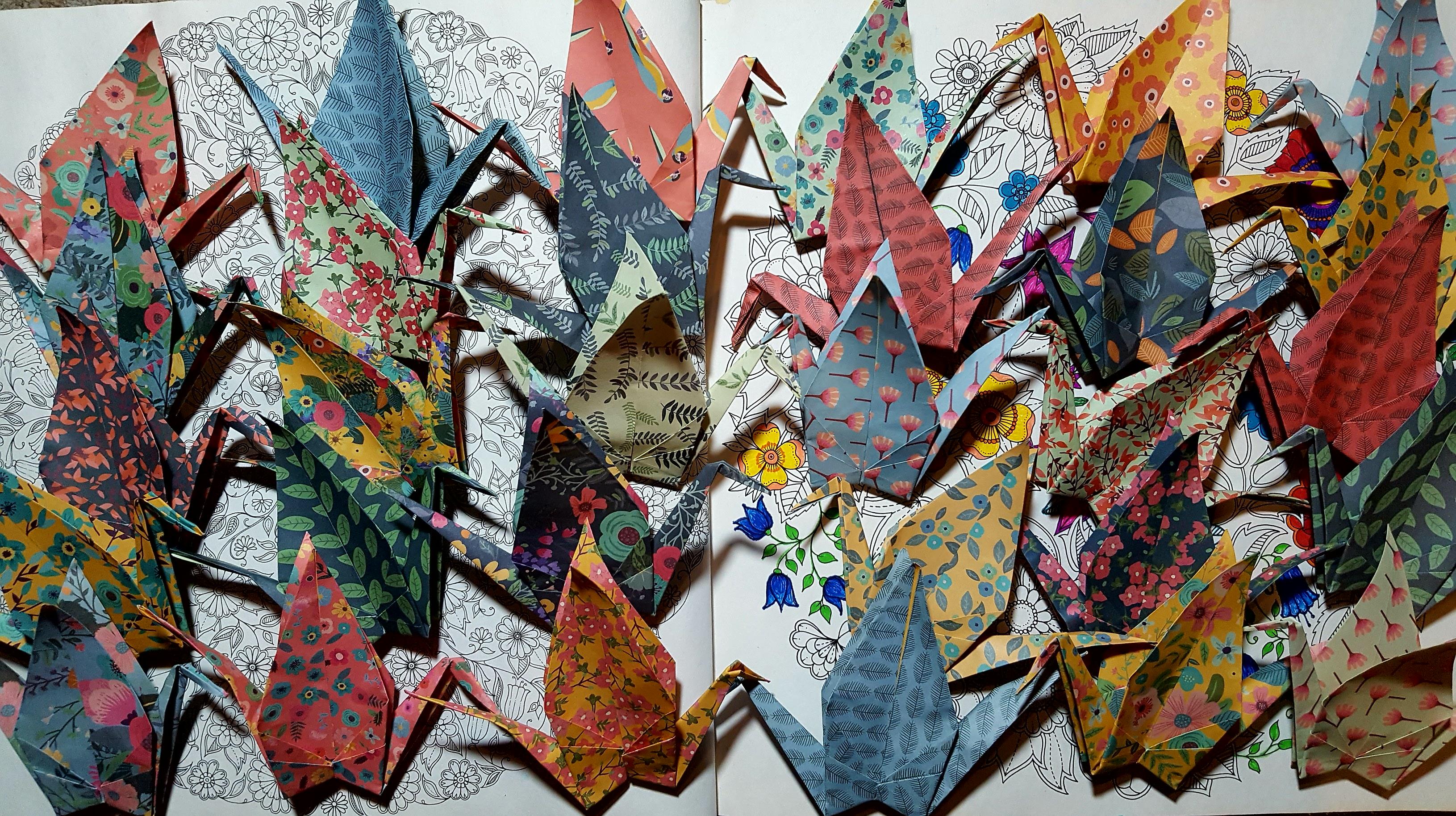 mobile origami grues japonaises 1