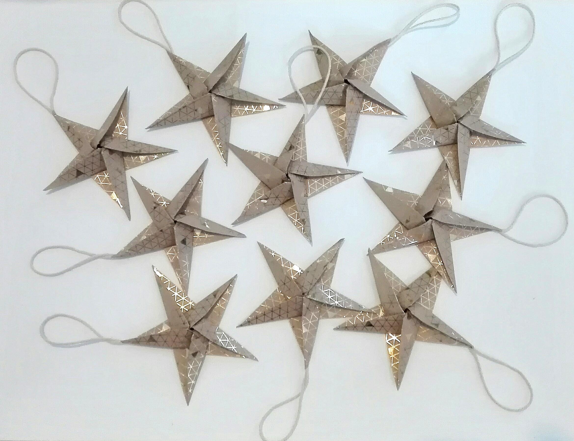 étoiles_origami_décoration