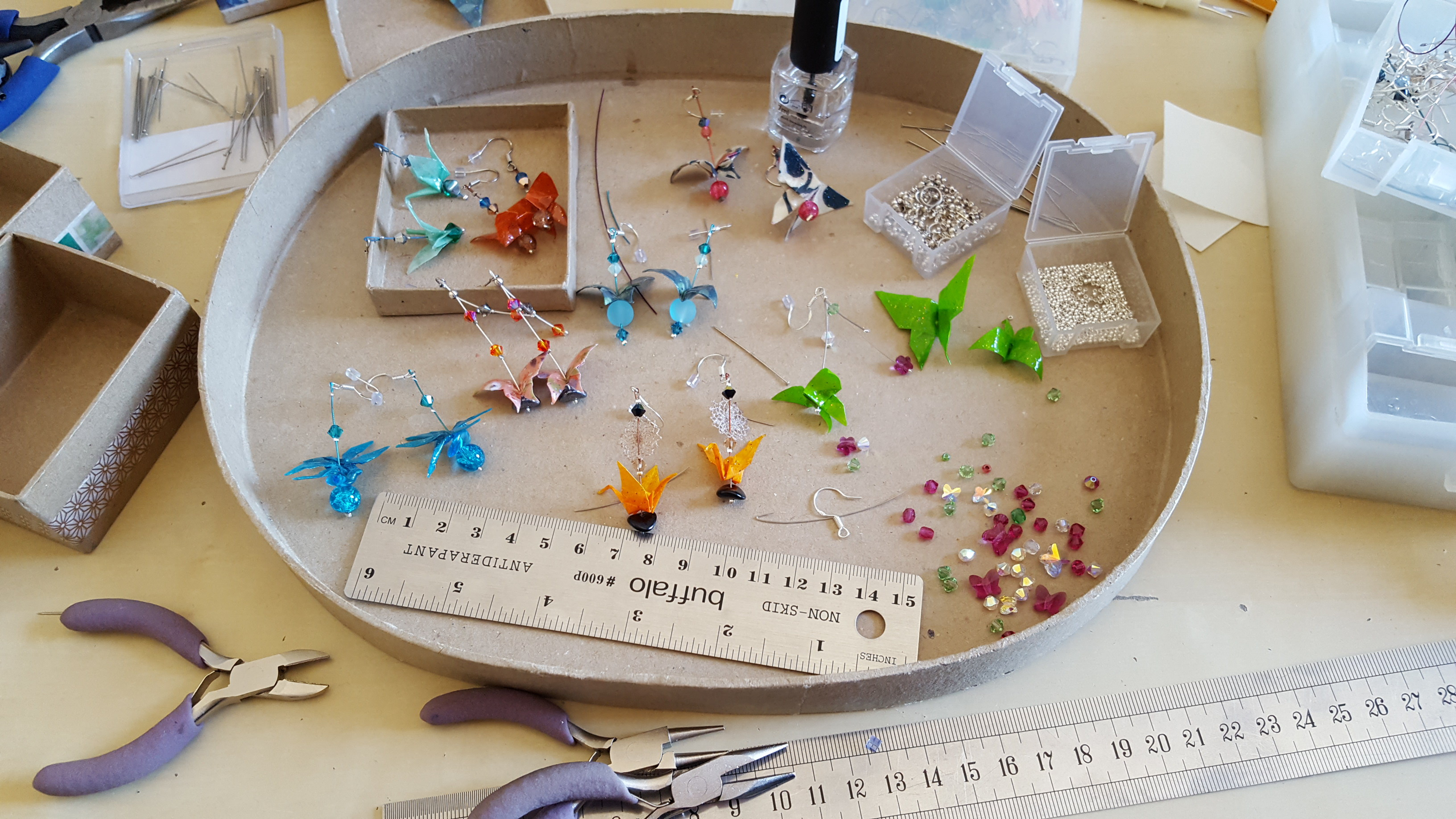 Bijoux origami sur mesure creations