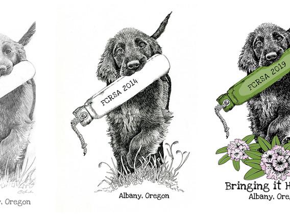 Oregon specialty logos