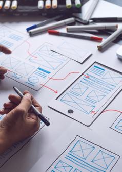 UX UI Design, Prototypen Erstellung