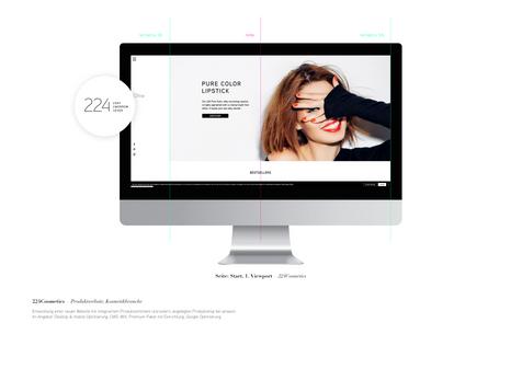 Desktop Showcase 224Cosmetics