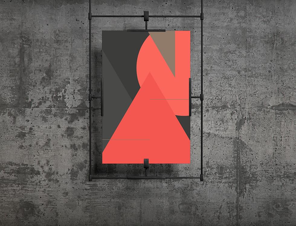 Plakat Poster Design Gestaltung Symmetry Objects Meike Becker Selbstständige Designerin