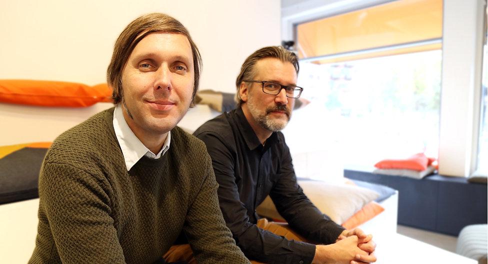 Joakim Forsemam och Magnus Johansson