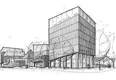 Häradshövdingen_Roof_Studies_with_Model_