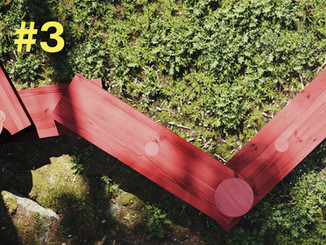 En möbel tar form