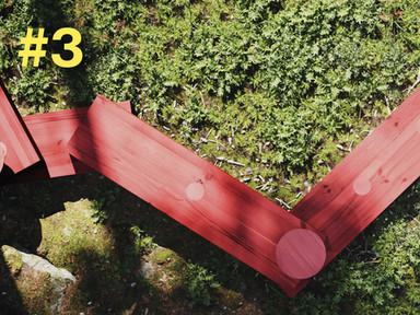 #3 En möbel tar form