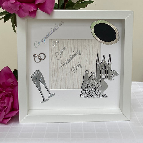 Wedding frame in Silver
