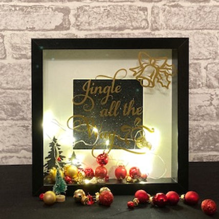 Jingle all the Way in Gold script