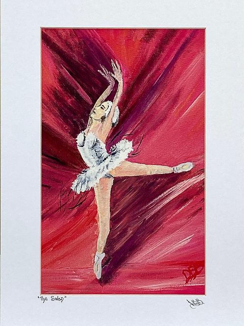 "Ballerina.....""The Swan"""