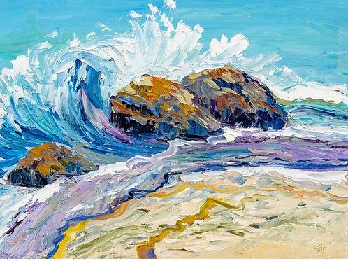 Print ; Crashing Seas