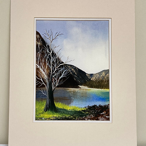 Print ; Winter Tree