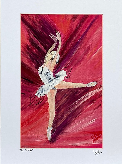 Print ; The Swan