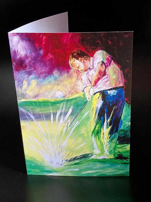 Card  The Golfer
