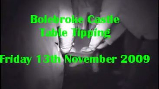 Table Tipping – Bolbroke Castle – Fri 13 November 2009