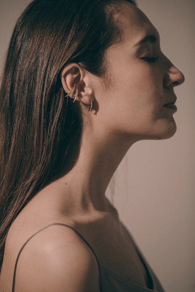 Thin earcuff