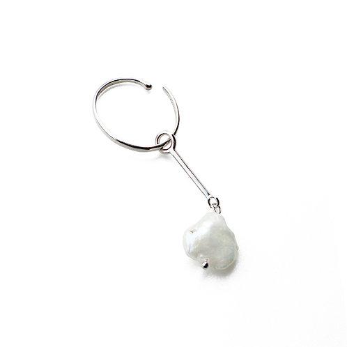 【予約】Custom EarCuff (Pearl Bar Silver)