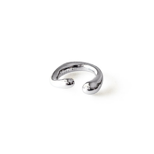 Little Twist Earcuff Silver