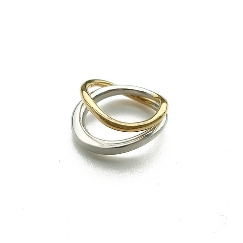One Stroke Ring (Double)