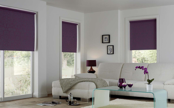 Jigsaw Blind Blackout Roller Blind