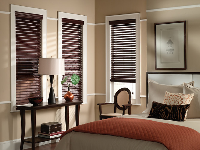 Jigsaw Blinds Faux Wood Blinds