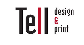 Tell Design and Print, About Us, Original Logo