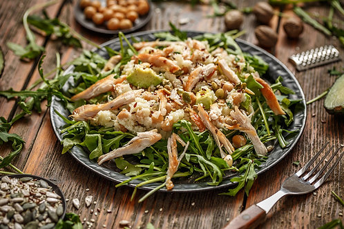 Asian Coconut & Lime Pulled Chicken (Mild Spice)