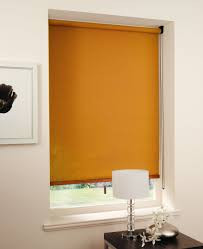 Jigsaw Blind Orange Roller Blind