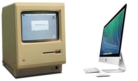 Tell Design and Print, Macs through the ages, about usus