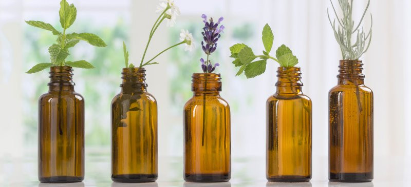 Essential oils from plants