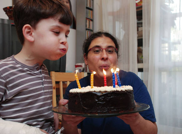 צילום אירועים של פעם בחיים - כיבוי נרות על העוגה