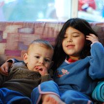 צילום ילדים ומשפחות - אח ואחות