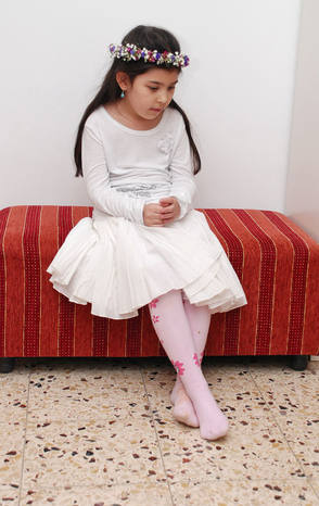 אירועים של פעם בחיים - זר ושמלה לבנה