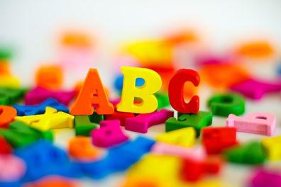ABCのブロック