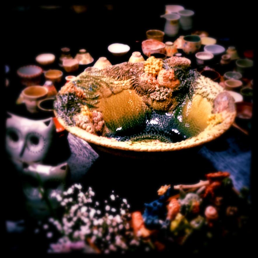 ばんこまつり カエル 鉢