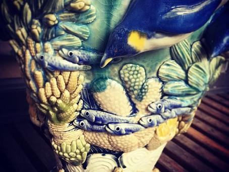 専攻科陶芸展と、おでかけと、国際陶磁器フェスティバル美濃。