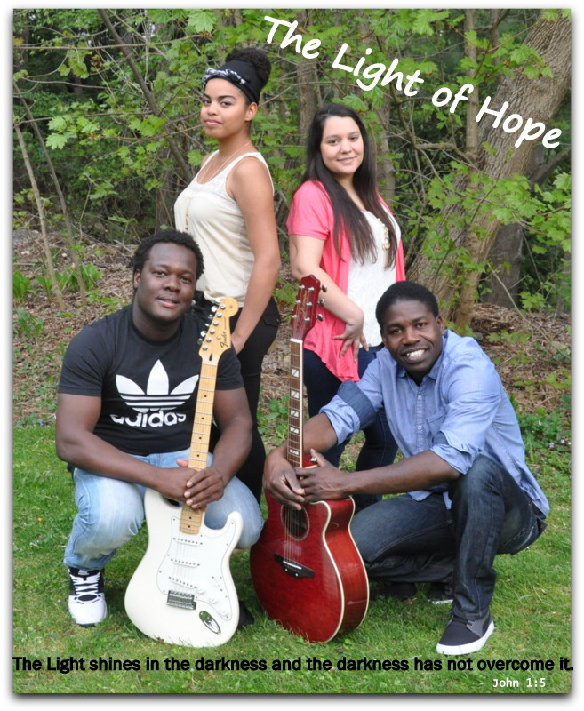Members of MOHI's band, The Light of Hope