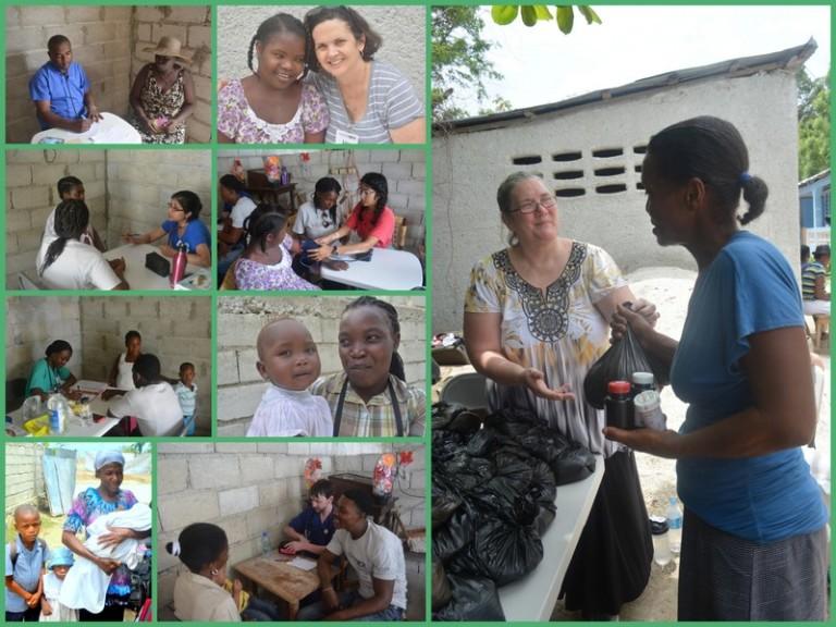 Outreach in Ti Rivye