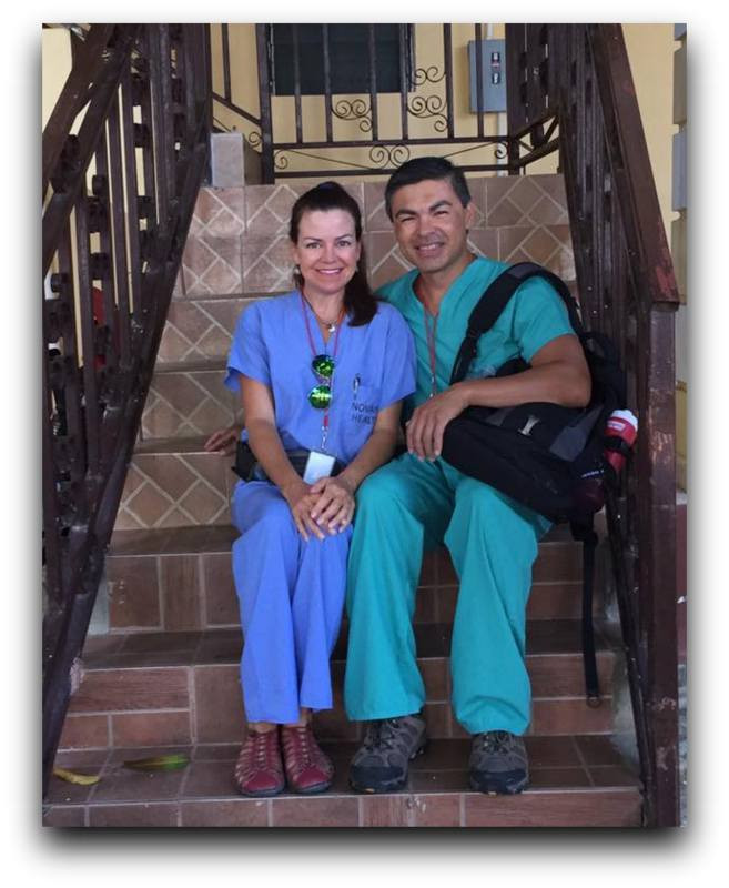Doctors Debbie and Tom used their skills to impact many lives this week.
