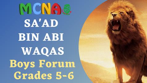 Boys Forum (Grades 5-6)