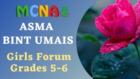GIrls Forum (Grades 5-6-)