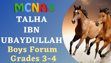 Boys Forum (Grades 3-4)