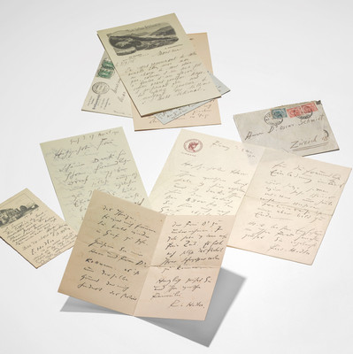 Correspondances entre Ferdinand Hodler et Oscar Schmidt. Institut Ferdinand Hodler, 1911-1917. Genève, Institut Hodler.